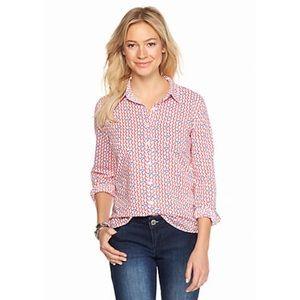 Crown & Ivy Anchors Away Shirt EUC